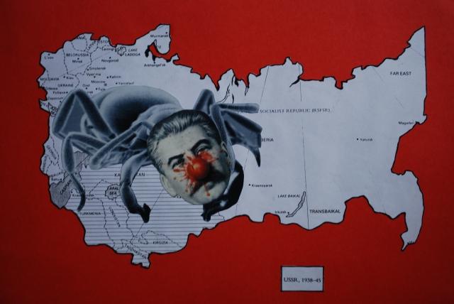 Είμαστε εναντίον του φασισμού… The SS (Spider Stalin)